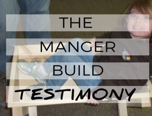 The Manger Build Testimony: Larry Patton