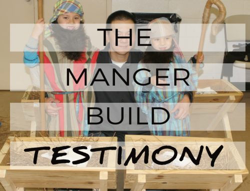The Manger Build Testimony: Wayne Chang