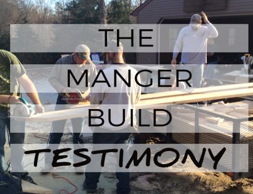 The Manger Build Testimony: Jim Pulling