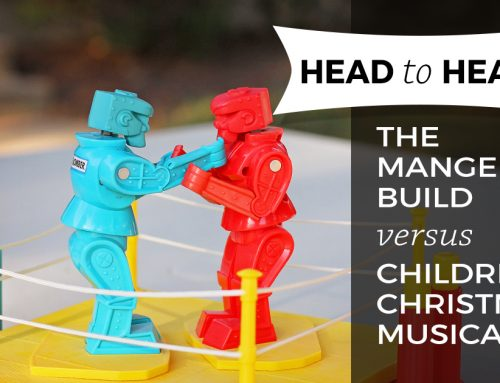 Head to Head: The Manger Build vs. Children's Christmas Musical
